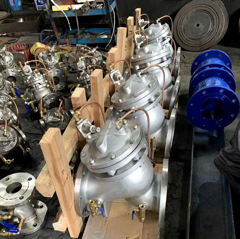 <b>水泵控制阀 JD745X多功能水泵控制阀 活塞式电动 不锈钢电磁 上海水利阀厂家</b>
